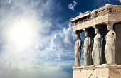 Parthenon in Acropolis, Athens Greece
