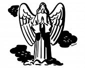 pic of cherubim  - Praying Angel  - JPG