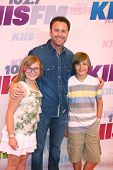 LOS ANGELES - MAY 11:  Chris Harrison and his children attend the 2013 Wango Tango concert produced by KIIS-FM at the Home Depot Center on May 11, 2013 in Carson, CA