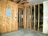 Framed Out With Drywall