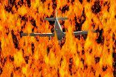 Flying Through Flames