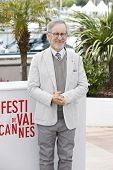 CANNES, FRANCE - MAY 15: Steven Spielberg at the Jury photocall during the 66th Annual Cannes Film F