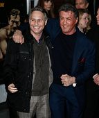 NEW YORK-DEC 16: Founder of DuJour Media Group Jason Binn (L) and Sylvester Stallone attend the worl