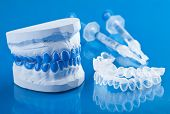 individual set for teeth whitening