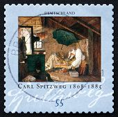 Postage Stamp Germany 1979 The Poor Poet, By Carl Spitzweg