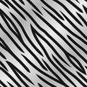 Silver Tiger Print