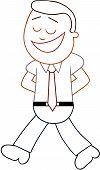 Businessman Happy