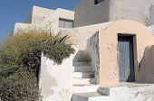 Garden En House In Thira.