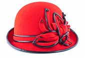 Red Womens Hat