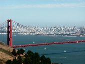 foto of golden gate bridge  - Golden Gate bridge - JPG