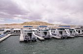 Pier For Houseboats In Lake Powell