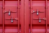 Red Container Locks