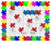 Jigsaw Drop-down Puzzle  2013- 2014  - Wishful Thinking 1