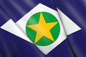 Flag of Brazil (Mato Grosso)