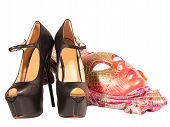 Womens Shoes Carnival Mask