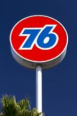 Union 76 Gas Station Sign