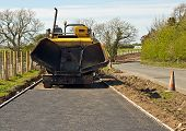 Tarmacadam Footpath Laying