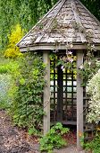 Old Wooden Garden Gazebo