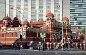 Historic Public Baths Building In Melbourne City.