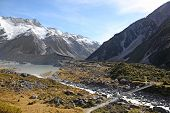 Hooker River - New Zealand