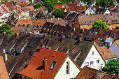 Roofs Of Breisach On Rhein