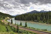 Scenic view in Banff National Park, Alberta