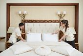 picture of housekeeping  - Hotel service - JPG