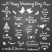 wedding letterings