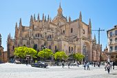 Segovia. Cathedral Of Saint Maria
