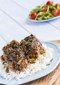 Garlic Furikake Chicken