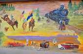 History of Williams mural