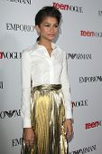 LOS ANGELES - SEP 27:  Zendaya Coleman at the Teen Vogue's 10th Annual Young Hollywood Party at Priv
