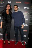 LOS ANGELES - NOV 18:  Emmanuelle Chriqui, Jerry Ferrara at the Variety's 3rd Annual Power Of Comedy