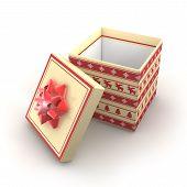 3D - Christmas Gift Box 2
