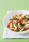 Gemelli Pasta With Asparagus And Pancetta