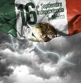 September, 16 Independence of Mexico - 16 de Septiembre, Independencia do Mexico