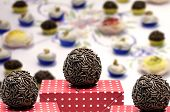 Traditional Brazilian Brigadeiro for the birthday party