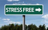 Stress Free creative sign