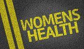 Women's Health written on the road