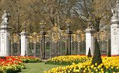 The Gates Of St James Park In London