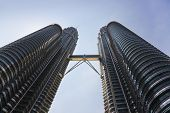 KUALA-LUMPUR, MALAYSIA - APRIL 09: Twin towers on April 09, 2011 in Kuala-Lumpur, Malaysia.