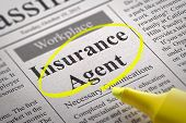 Insurance Agent Vacancy in Newspaper.