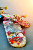 Old Skateboards