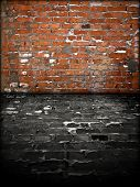 Grungy Brick Room