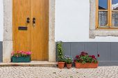Elements Of The Old House In The Town Of Tavira. Portugal.