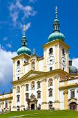 basilica minor Svaty Kopecek near Olomouc, Czech republic