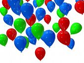 colored balloons