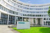 New Headquarters Office Building Of Hi-tech Company Siemens Ag