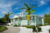 foto of beach-house  - A New Beach House with Beautiful Landscaping - JPG