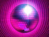 pinky disco sphere